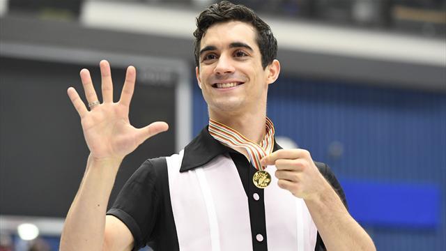 Fernandez premier patineur sacré cinq fois de suite depuis 44 ans