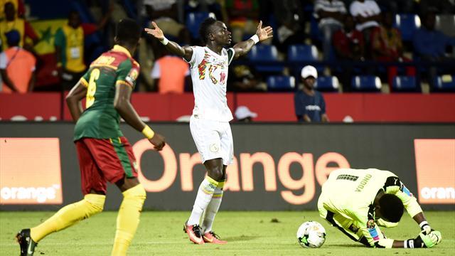 Mané versagt: Kamerun im Halbfinale