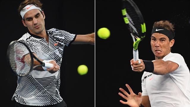 Großes Tennis: Die 5 besten Ballwechsel des Traumfinals Federer - Nadal