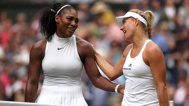 """Kerber gratuliert Williams: """"Serena wird eine Weltklasse-Mama sein"""""""