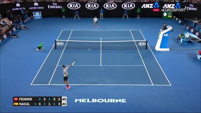 Traumtennis: Die Highlights vom Finale Federer-Nadal