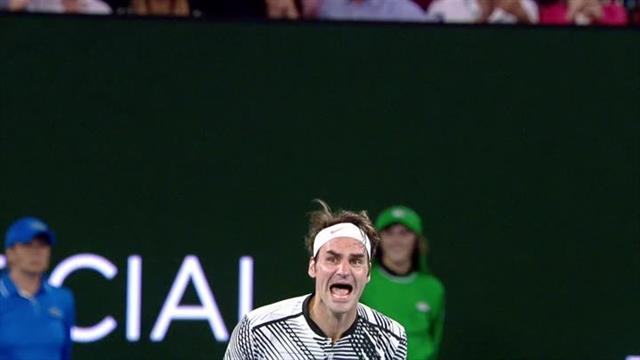 Неповторимая реакция Федерера после победы на ТБШ спустя 5 лет