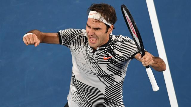 Федерер – первый теннисист в истории, выигравший минимум 5 титулов на трех различных мэйджорах