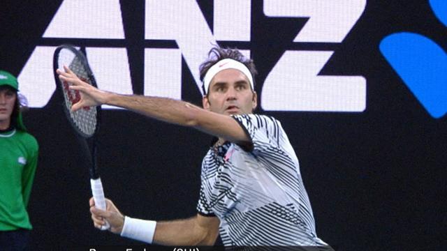 Top 5 shots: Dimitrov, Zverev and Federer