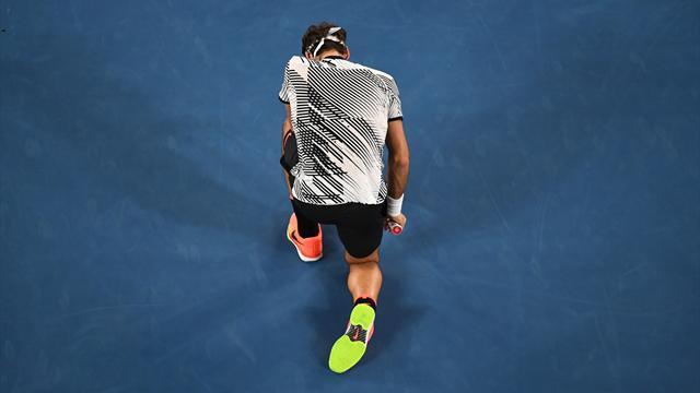 Tension, rebondissement et soulagement : le dernier jeu de Federer en vidéo