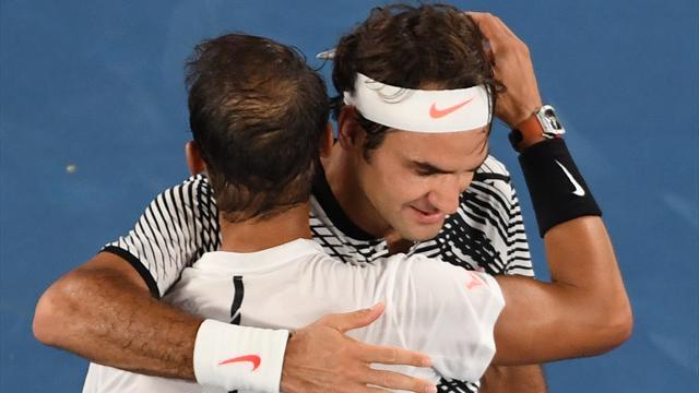 Ils sont désormais deux devant Sampras : Federer et Nadal