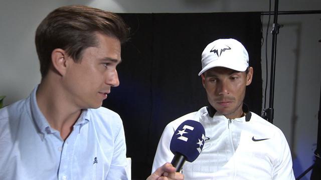"""Open de Australia 2017, Rafa Nadal a Eurosport: """"Me voy con una gran satisfacción personal"""""""