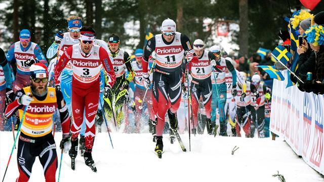 Norwegian Iversen claims top spot in Oberstdorf