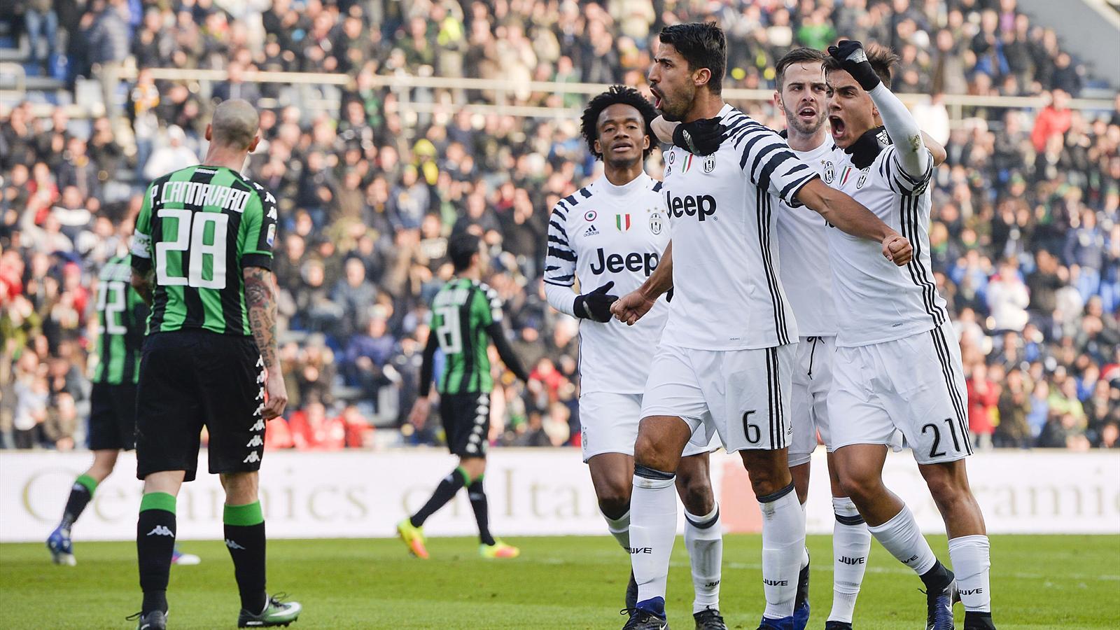 Le Pagelle Di Sassuolo Juventus 0 2 Serie A 2016 2017 Calcio Eurosport
