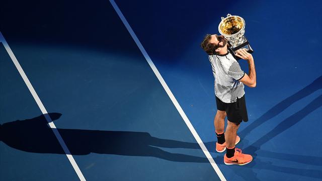 4 ans et demi après, Federer a enfilé sa 18e perle...