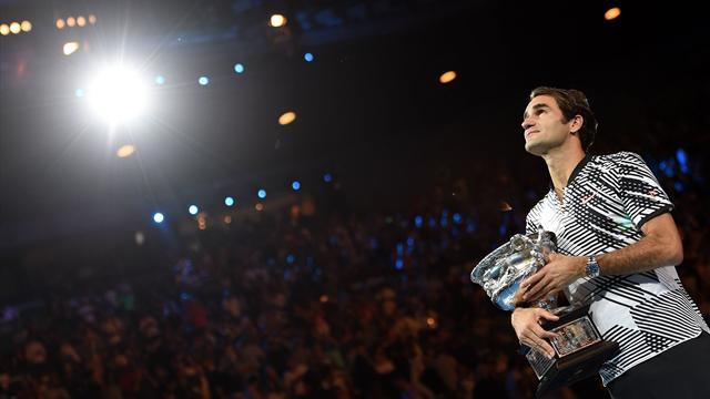 Australian Open 2017: Los 10 puntazos de Federer que le convirtieron en leyenda