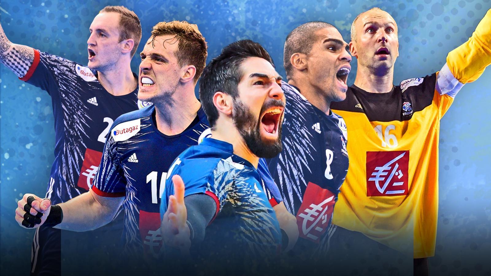 Handball mondiaux 2017 6 toiles sur le maillot les bleus s isolent un peu plus au sommet - Hand ball coupe du monde ...