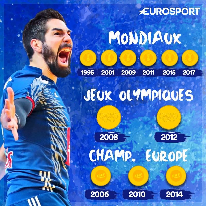 e3c5c675ddd19 Handball - Mondiaux 2017 - 6 étoiles sur le maillot, les Bleus s ...