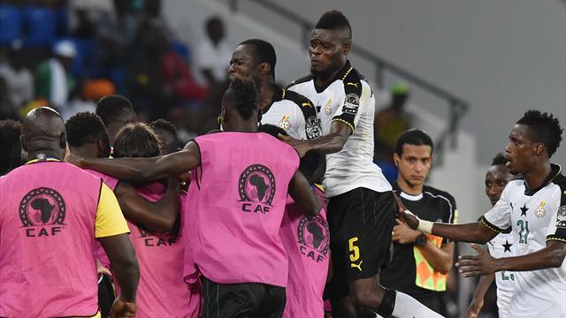Ayew-Brüder schießen Ghana ins Halbfinale