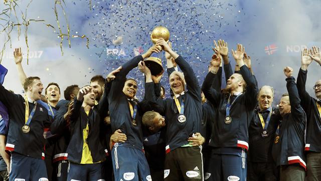 Сборная Франции во второй раз подряд стала чемпионом мира по гандболу