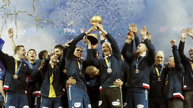 Mundial Balonmano, Francia-Noruega: Campeones marcando una época (33-26)
