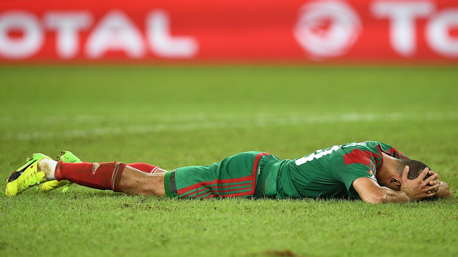 L 39 egypte limine le maroc 1 0 en quart de finale coupe d 39 afrique des nations 2017 football - Resultat foot coupe d afrique ...