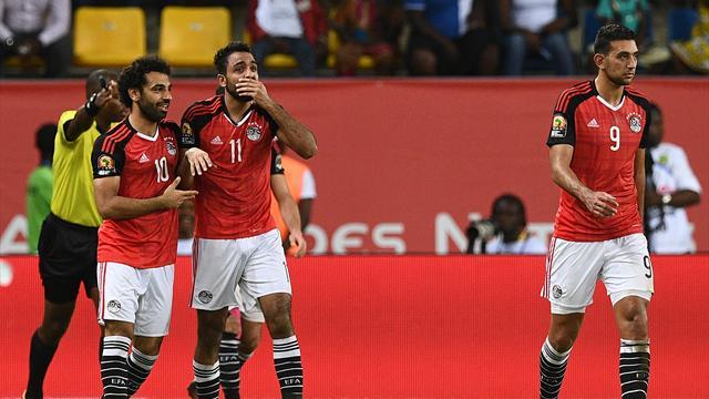 Egypt progress thanks to late winner