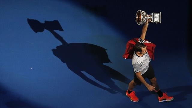 Federer, le gigantesque point d'exclamation