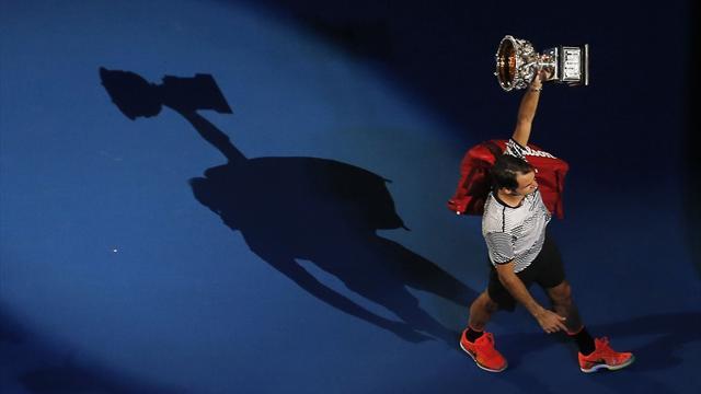 Federer, le gigantesque point d'exclamation