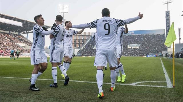Juventus-Sassuolo, formazioni ufficiali: Ecco le scelte di Allegri