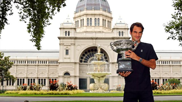 Federer eyes Wimbledon and US Open glory after Australian Open title