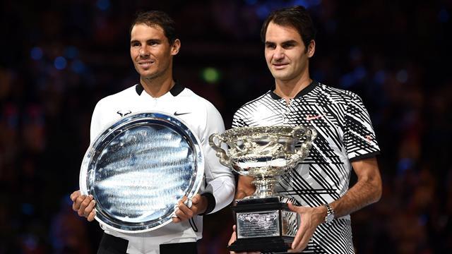 Nadal sube al sexto puesto del ranking ATP y Federer al décimo tras el Australian Open 2017