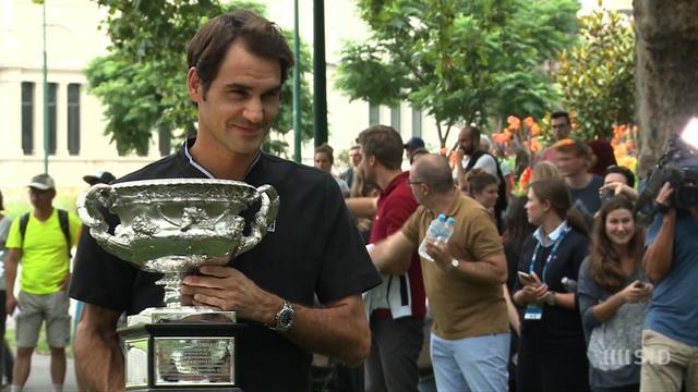 """Kein Karriere-Ende: Federer """"will noch einige Jahre spielen"""""""