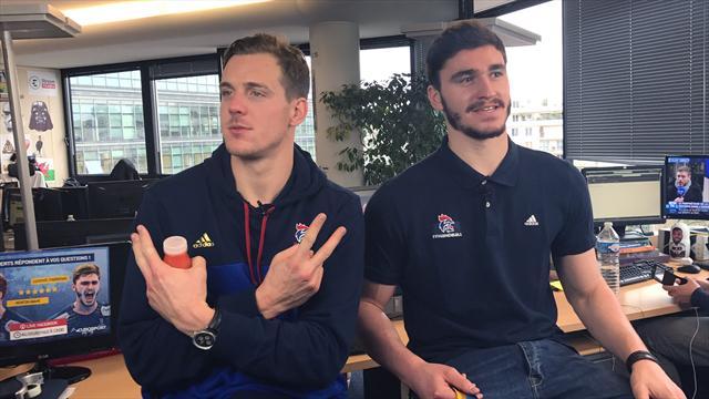 Revivez notre Facebook Live avec Kentin Mahé et Ludovic Fabregas