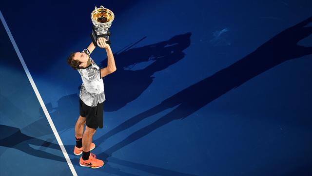 Pour vous, la victoire en Grand Chelem la plus marquante de Federer est… l'Open d'Australie 2017