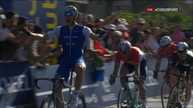 Kittel wins Dubai Tour opening stage, Cavendish third