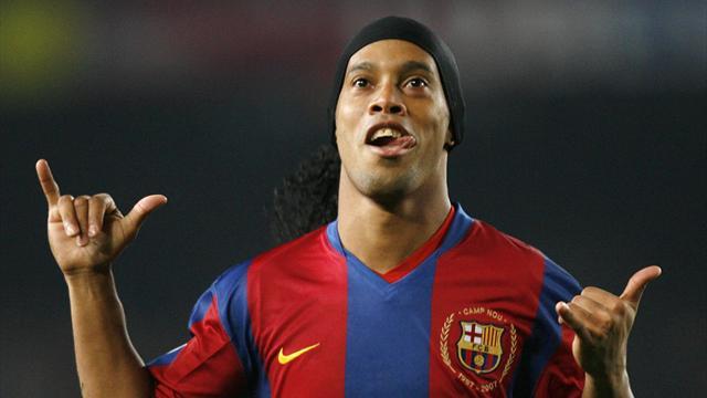 Ronaldinho returns to Barcelona as a club ambassador