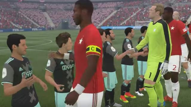 Геймер создал в FIFA 17 матч самых высоких и самых низких футболистов