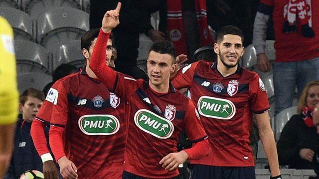 Lille s'offre Nantes, Bergerac un bel exploit