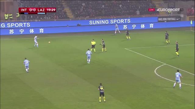 Felipe Anderson a placé une belle tête : L'ouverture du score de la Lazio en vidéo