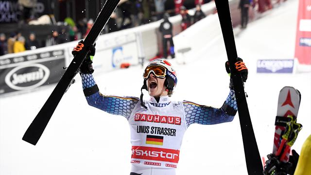 Strasser and Shiffrin take City Event victories in Stockholm