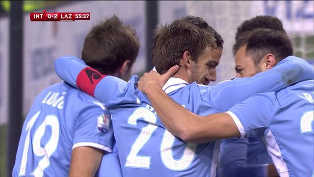 Une belle tête, un penalty sous la barre : la Lazio est en demi-finales