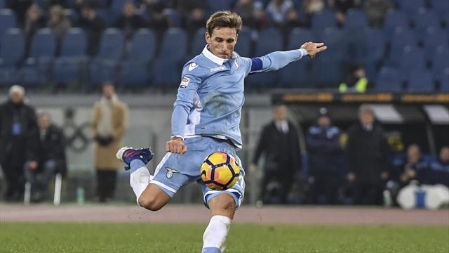 Lazio end Inter's winning run to reach Coppa semi-finals