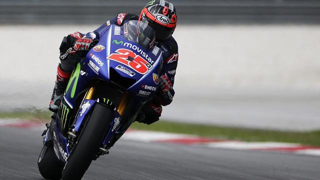 Márquez y Lorenzo mejoran pero no pueden con un estratosférico Maverick que lidera el último día