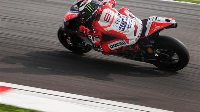 """Lorenzo: """"Cada vez voy conociendo y aprendiendo más de la moto"""""""