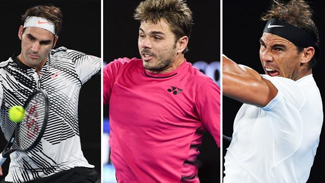 Federer, Nadal, Wawrinka, Dimitrov... : le Top 10 des matches ATP qui nous ont éblouis en 2017