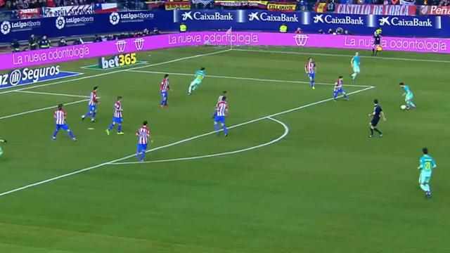 Pure, puissante : la frappe de Messi à l'extérieur de la surface n'a laissé aucune chance à Moya