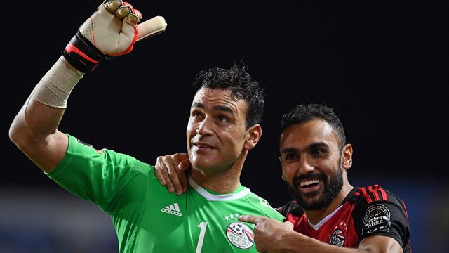 Le vétéran El-Hadary envoie l'Egypte en finale