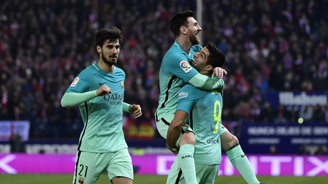 Grâce à Suarez et Messi, le Barça prend une option