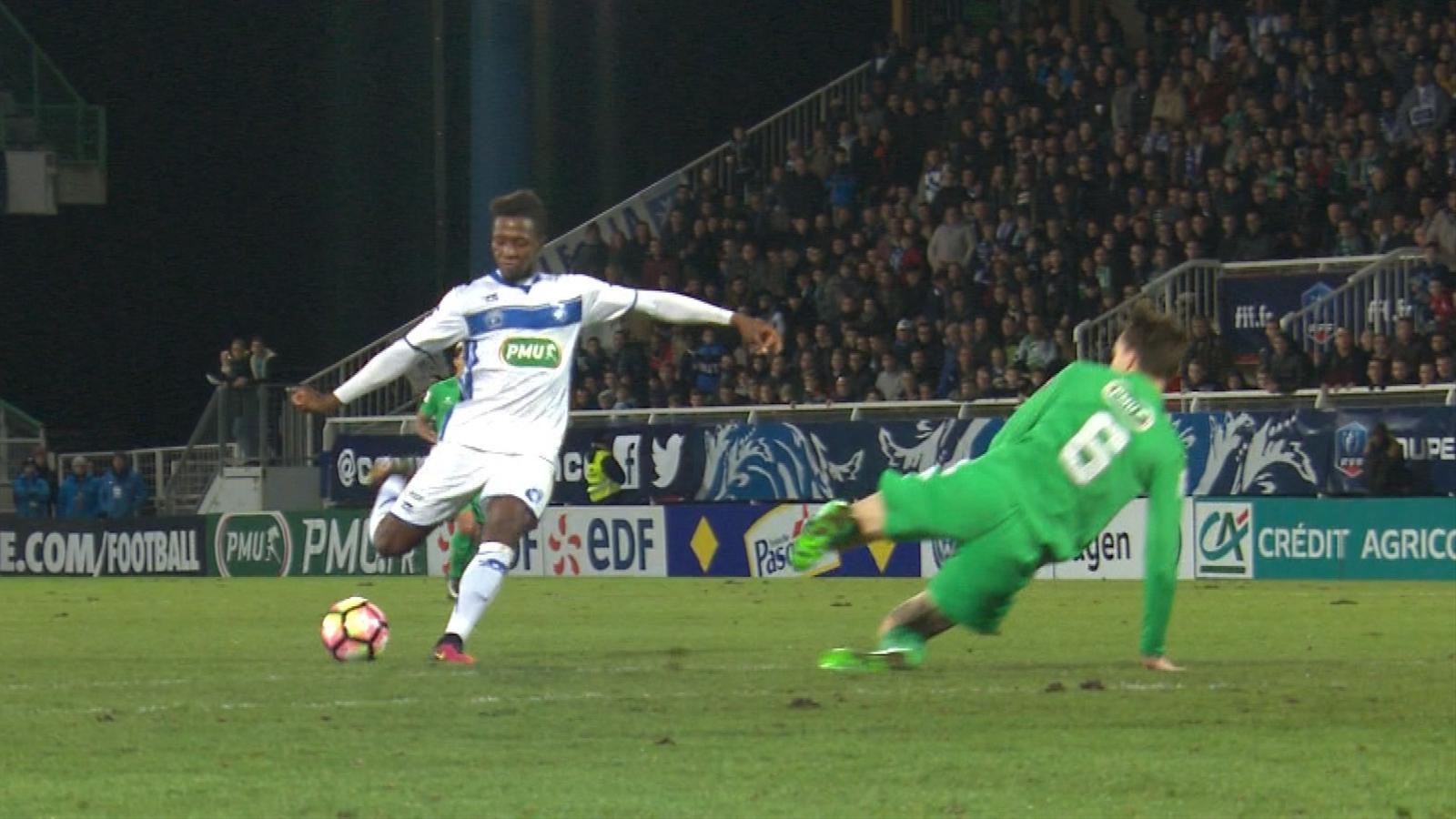 Video coupe de france le top 5 des buts des 16es de - Resultat foot feminin coupe de france ...