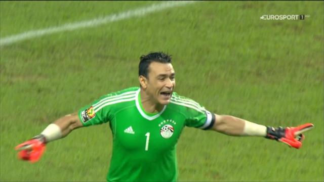 Veteran goalkeeper Essam El-Hadary is Egypt's hero