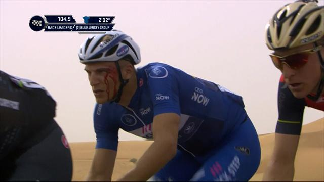 Kittel left with blood pouring from face after alleged punch