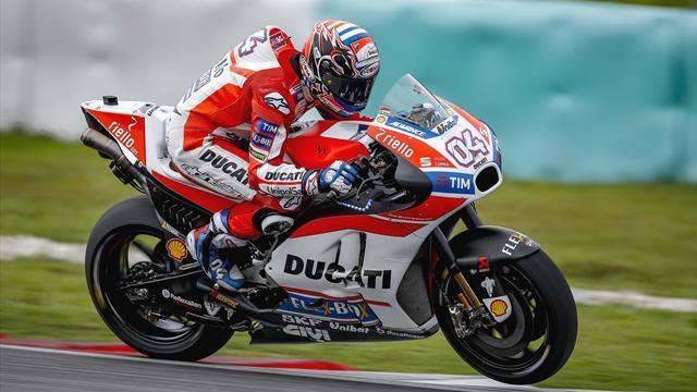 MotoGP, test Qatar: Vinales incanta. Rossi stecca