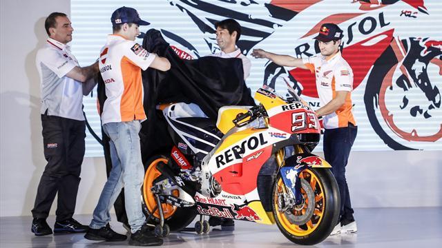 Honda presenta la RC213V, la moto de 2017