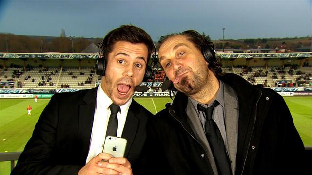 Quand les commentateurs d'Eurosport s'enflamment pour la Coupe de France